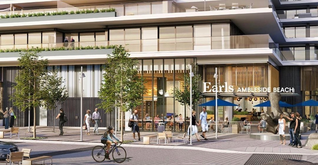 There's a new Earls restaurant opening on the North Shore in May