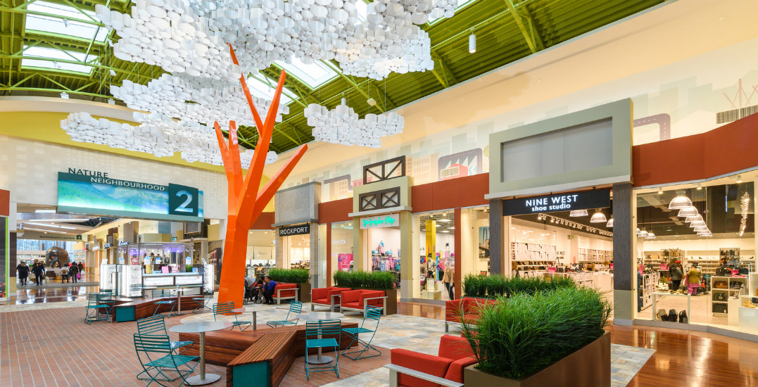 Tsawwassen Mills is offering discounts at over 50 stores this Easter long weekend