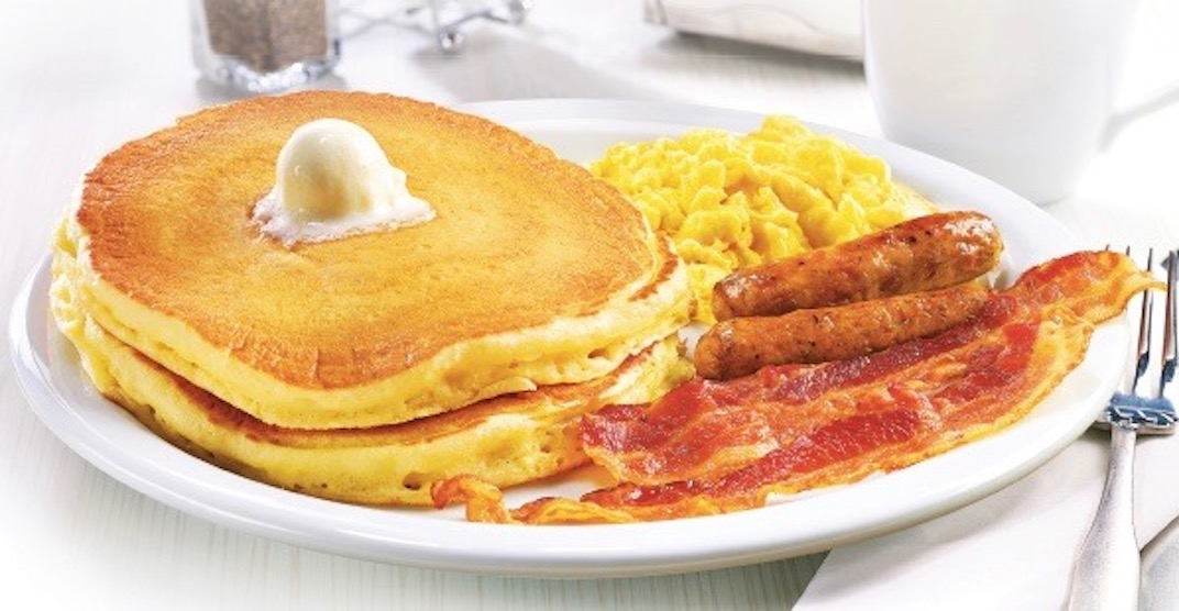 Get $0.99 Grand Slams at one Vancouver Denny's location next month