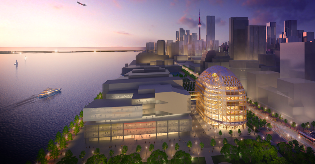 Toronto's iconic skyline is about to get an epic wood building (RENDERINGS)