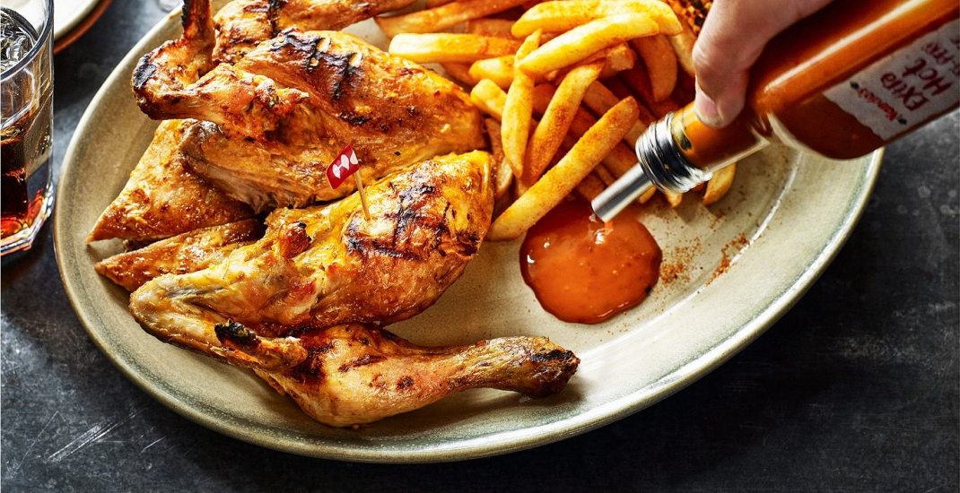 Nando's is dishing out FREE chicken and fries for one day only this weekend