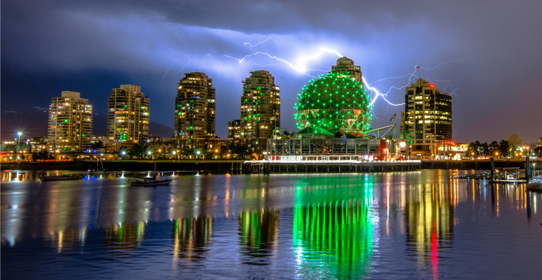 Threat of thunderstorms in Metro Vancouver today