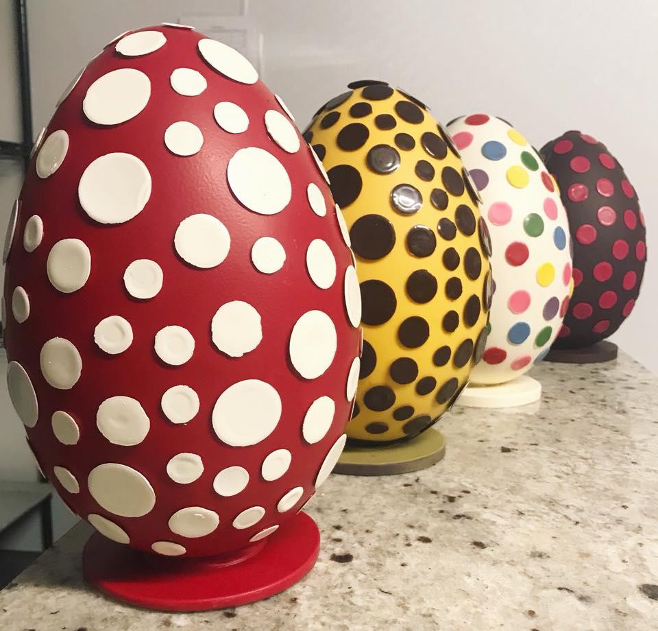 Nadège Patisserie easter eggs