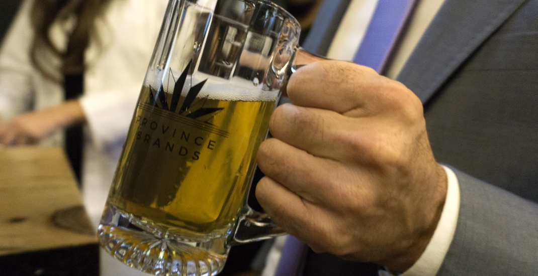 This Canadian company is developing the world's first beer brewed from cannabis