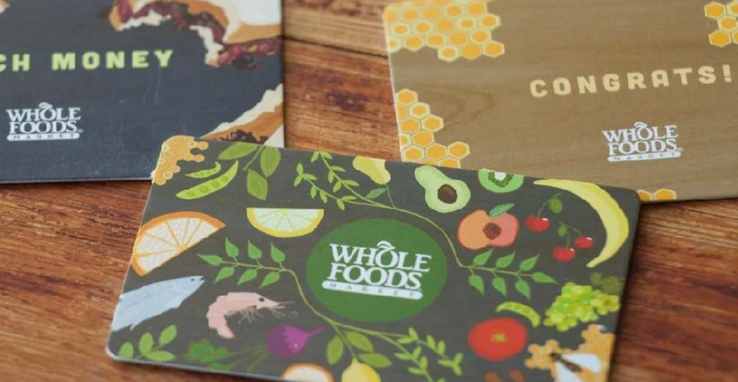 Whole Foods to give out 100 FREE gift cards at North Vancouver opening