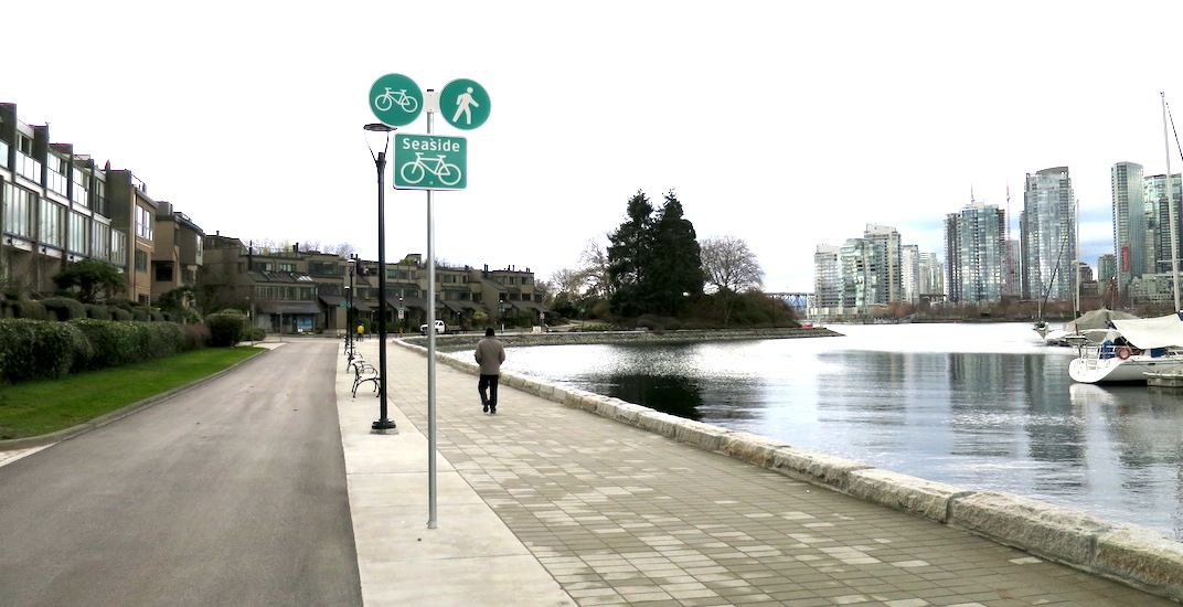 False Creek South Seawall