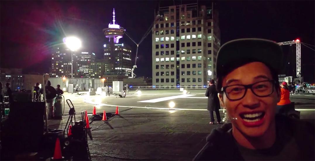YouTuber drops behind-the-scenes Arrow stunt footage filmed in Vancouver (VIDEO)