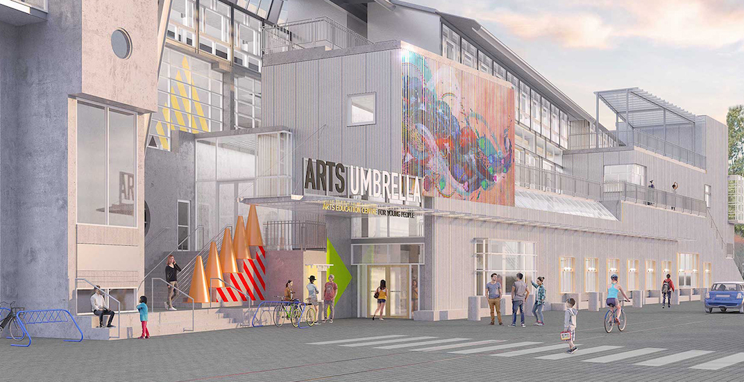 Arts Umbrella set to move into its new home at Granville Island next month