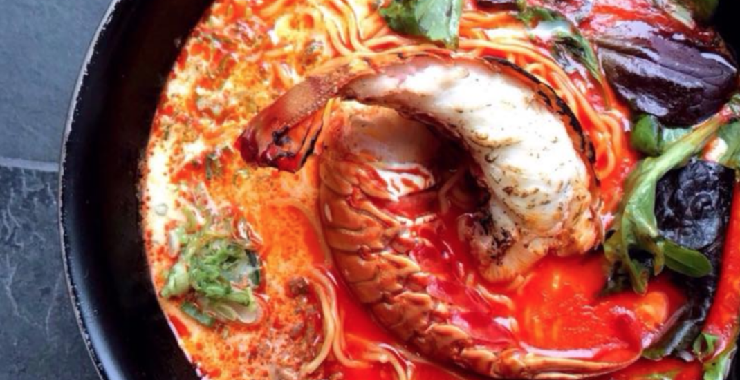 Lobster Ramen is the newest must-try dish at Toronto noodle houses