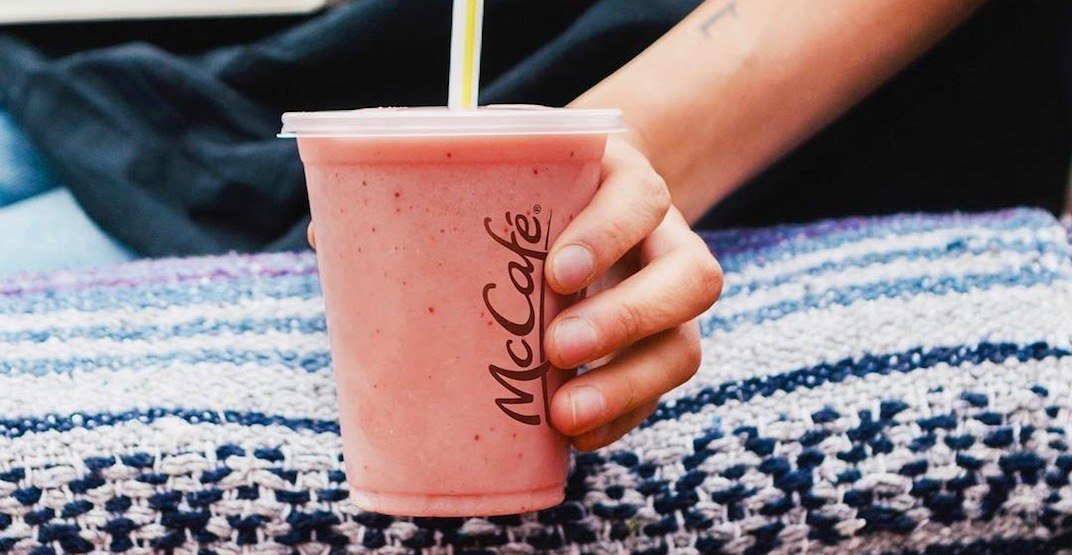 McDonald's now offers protein-packed real fruit smoothies in Canada