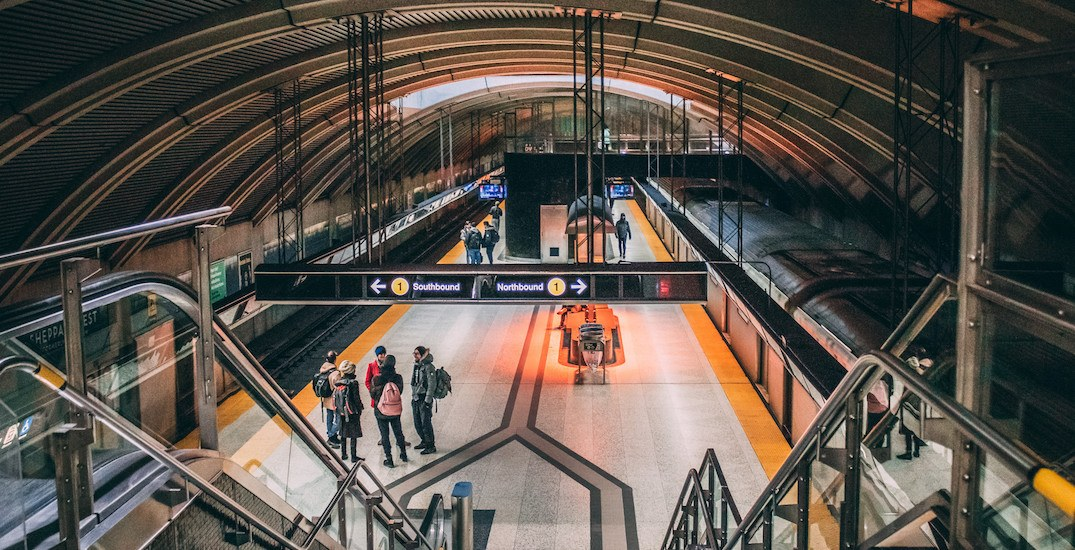 Portion of TTC's Line 1 will be closed for 3 days this weekend