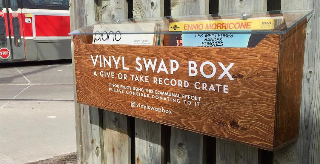 Toronto's east end just got a free library for vinyl records