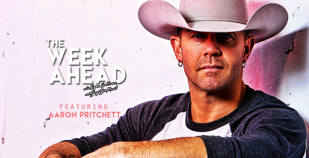 The Week Ahead: Talking sports with country music star Aaron Pritchett