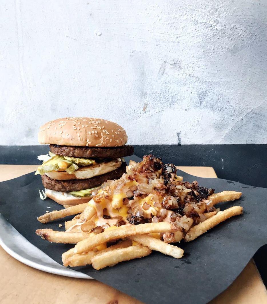veggie burger doomies
