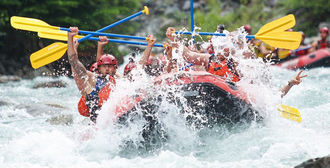 Make your summer awesome: Win the ultimate white water rafting experience in Whistler