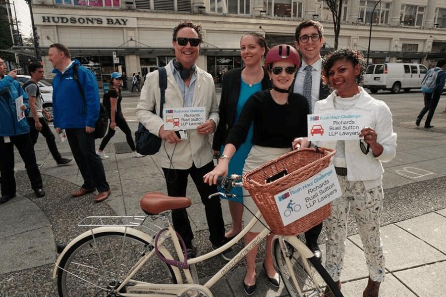 hub cycling vancouver rush hour challenge