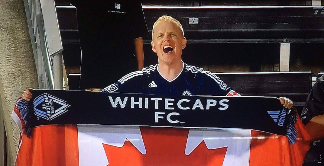 Whitecaps fan