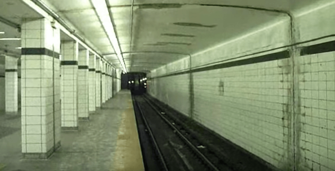 TTC hosting a concert in an abandoned ghost subway station