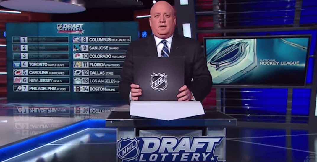NHL announces details for 2018 Draft Lottery