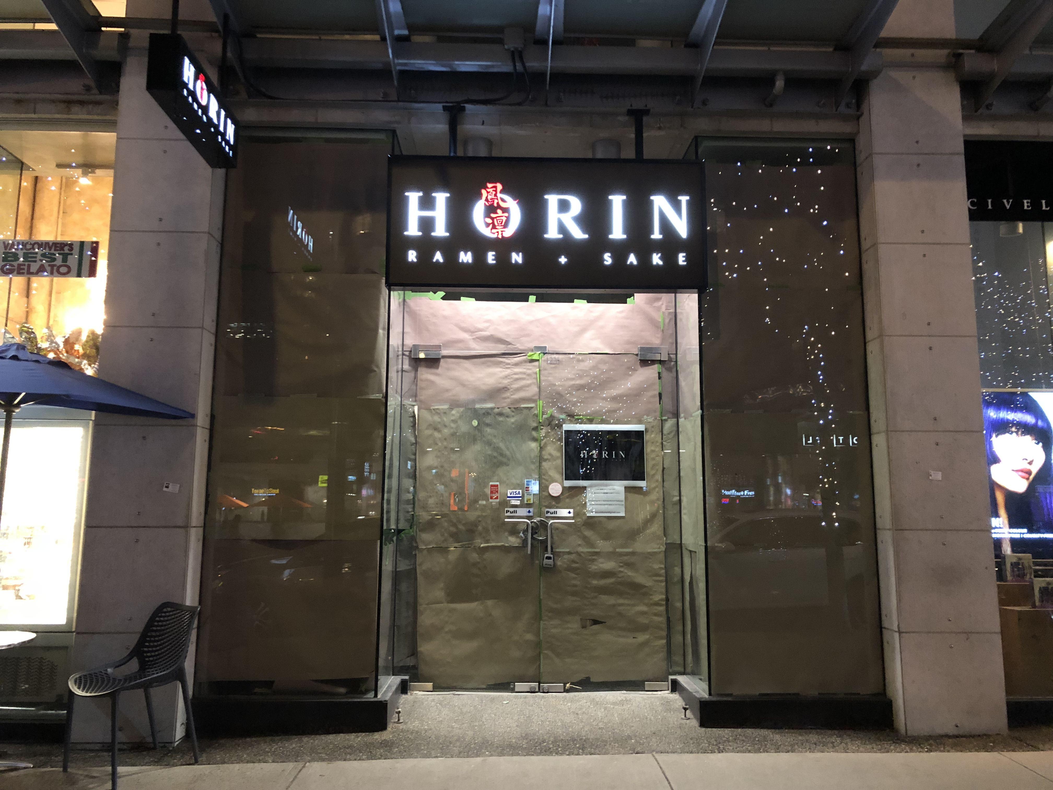 Horin Ramen + Sake