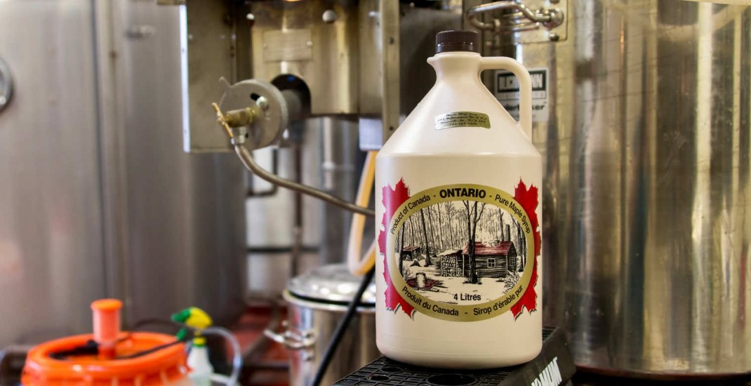This new Maple Ale is only flowing during sugar bush season