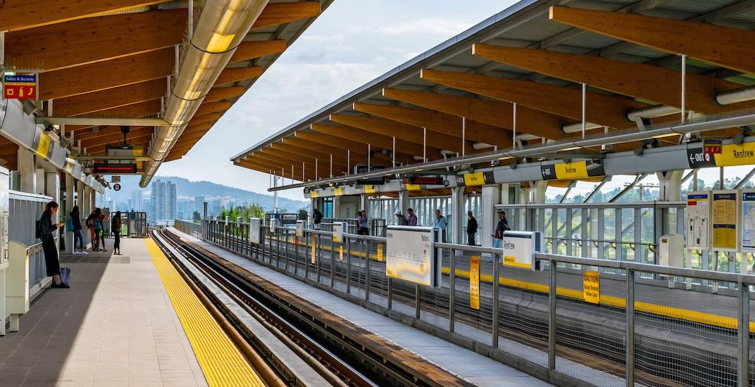 Skytrain renfrew station