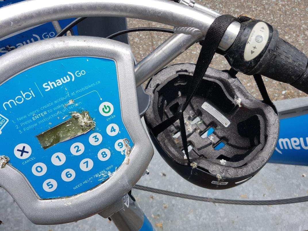 Mobi bike share