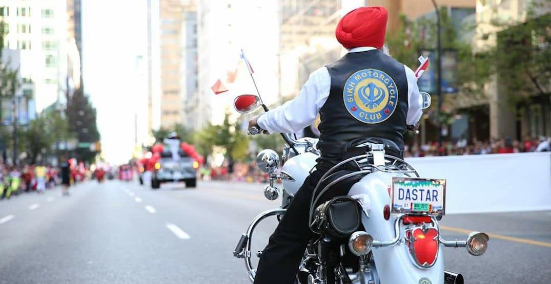 Sikh motorcycle