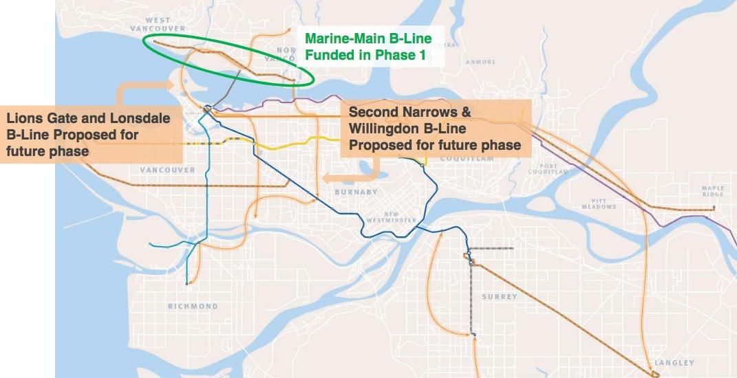 Translink future b line routes f