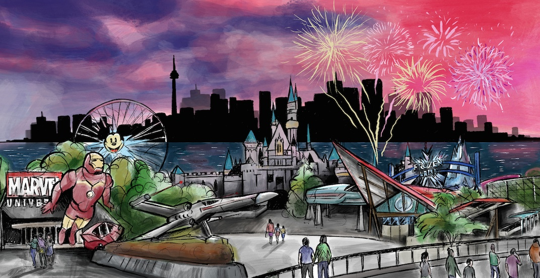 Disney announces massive $6.5-billion Disneyland Resort for Toronto Islands