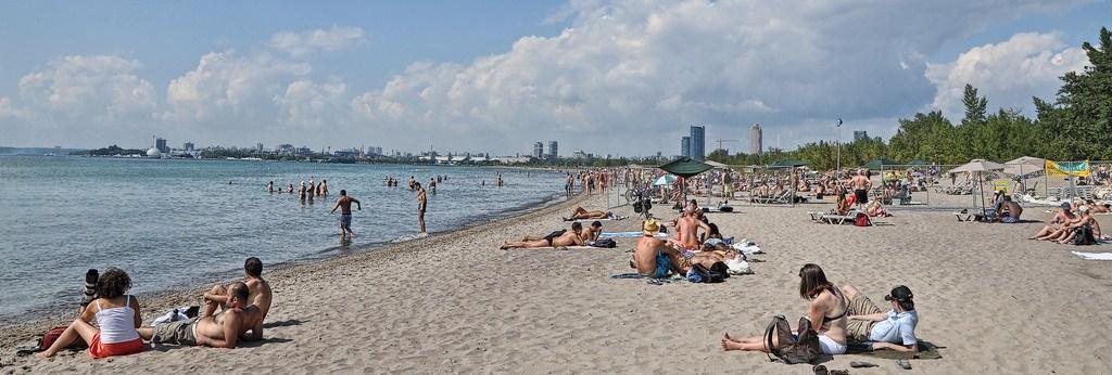Hanlan's Point Beach Toronto Islands