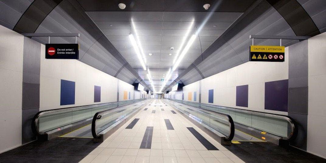 Billy Bishop Toronto City Airport Tunnel