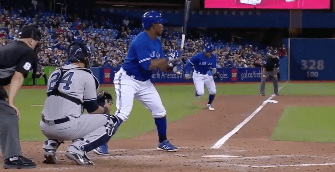 Kevin Pillar steals 3 bases in 1 inning for Blue Jays (VIDEO)