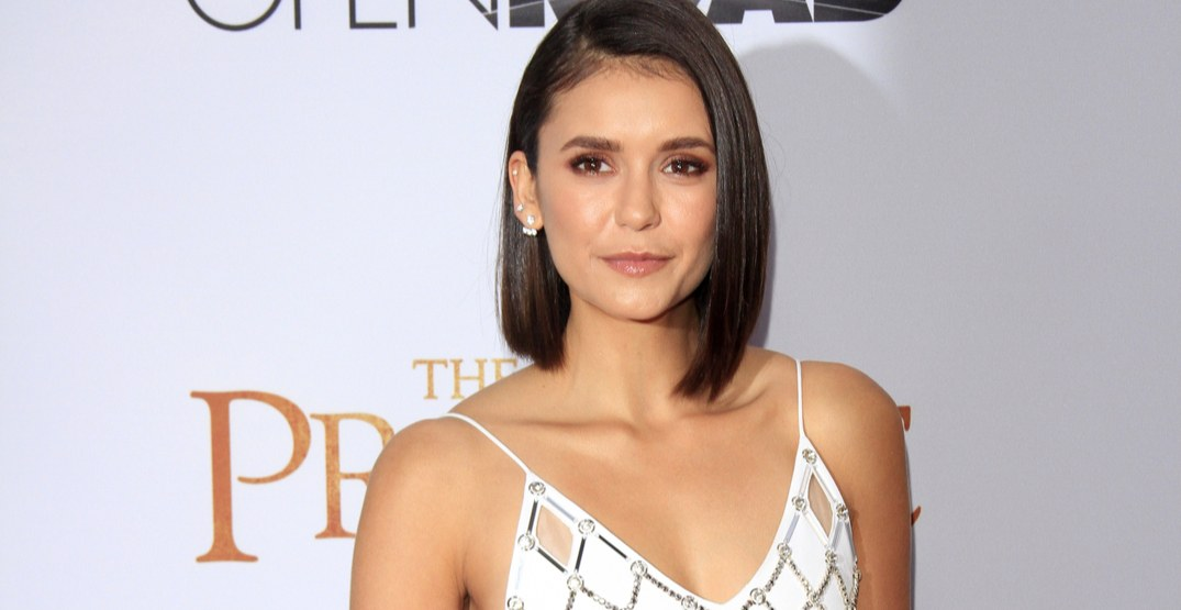 """Nina Dobrev at the """"The Promise"""" Premiere at the TCL Chinese Theater IMAX on April 12, 2017 in Los Angeles, CA"""