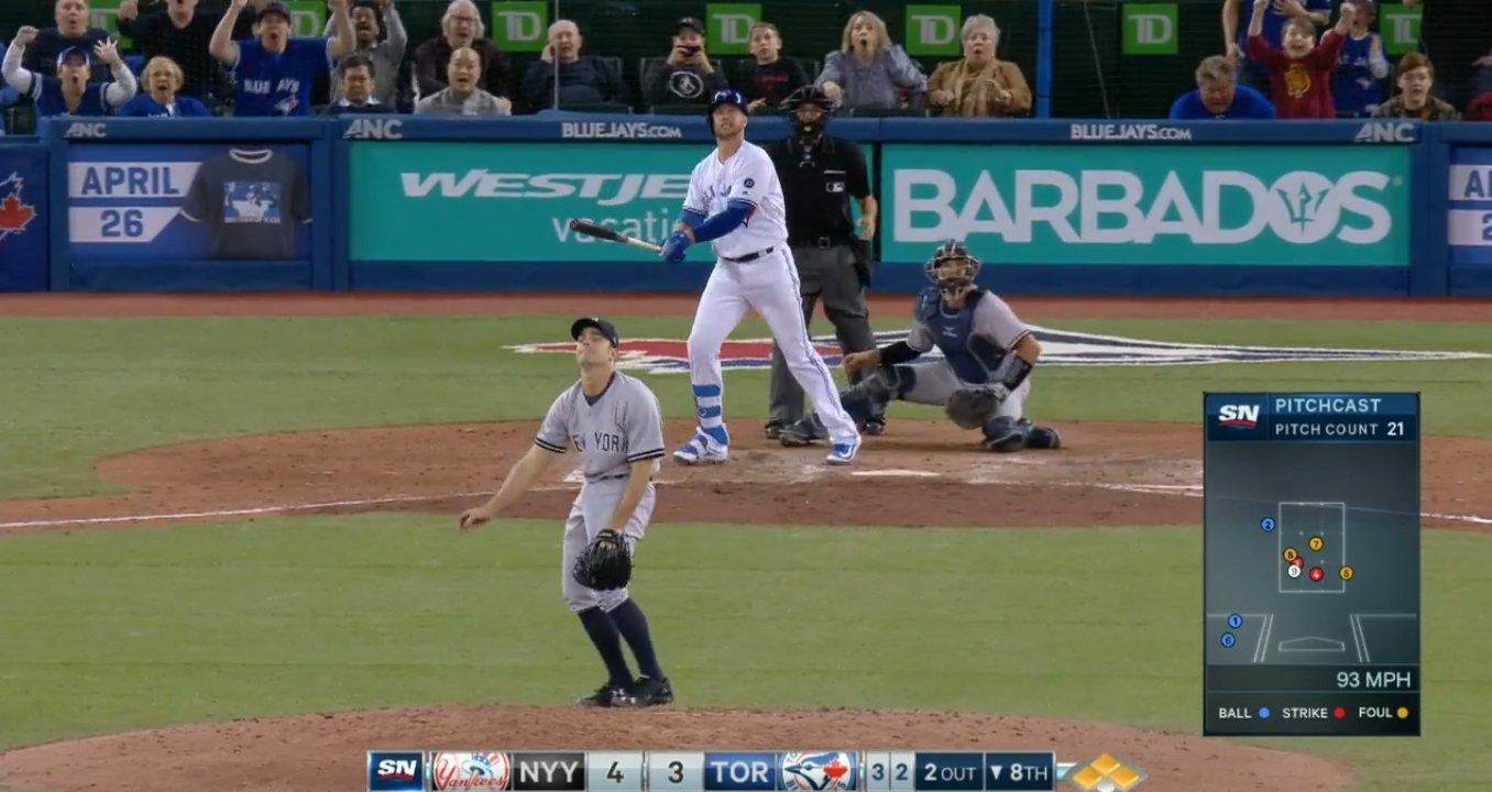 Smoak grand slam