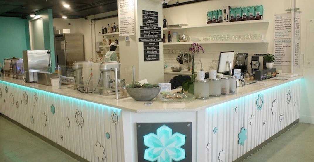 Commercial Drive liquid nitrogen ice cream parlour quietly closes