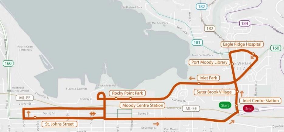 Port Moody Free Trolley