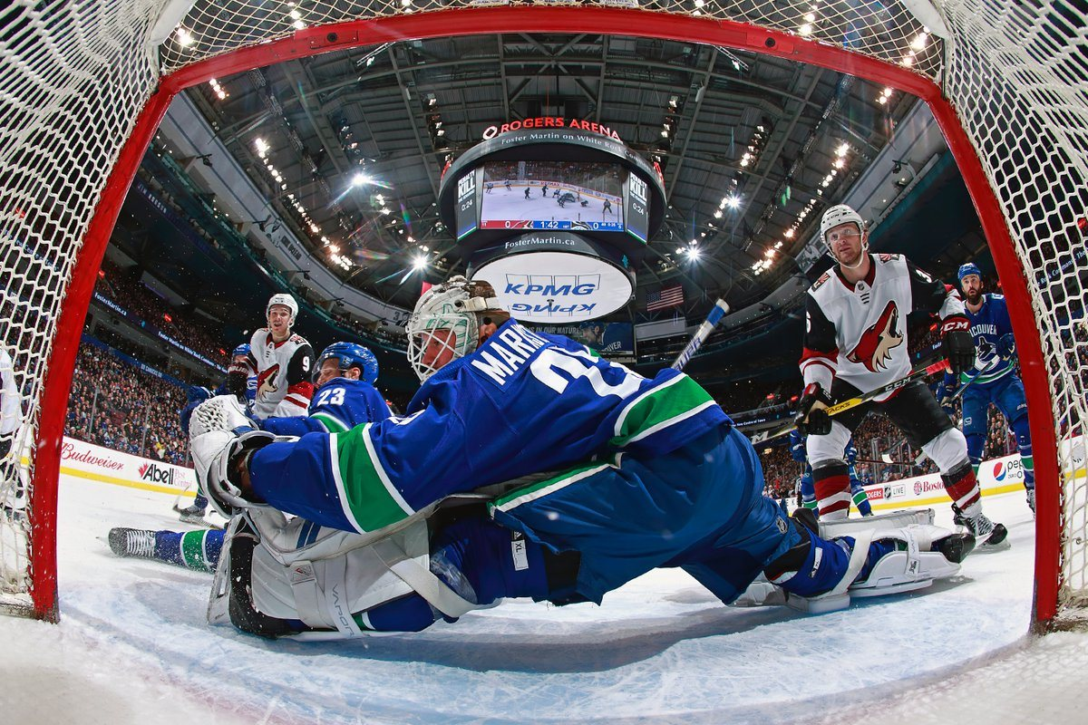 Numbers say Markstrom has been a legit No. 1 goaltender for Canucks this season