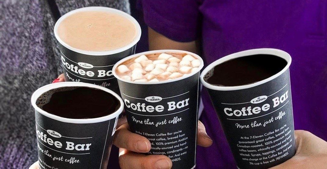 7-Eleven is offering $1 coffee this month across Canada