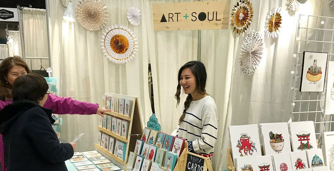 Vancouver's mega-sized Make It! craft market returns to the PNE Forum later
