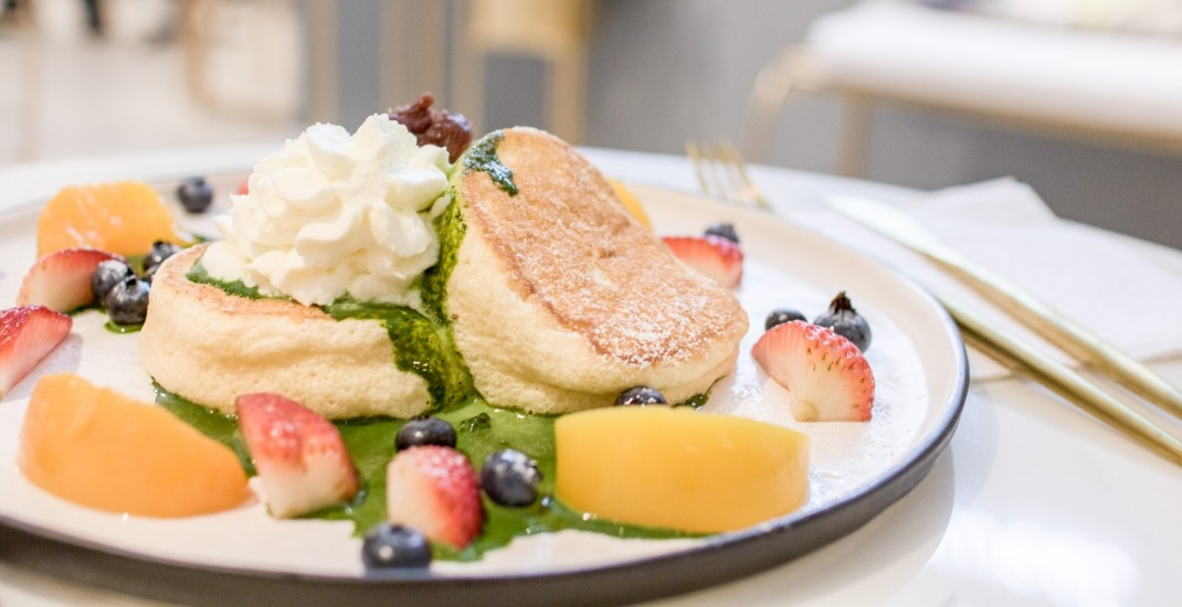 What's on the menu at Toronto's first Japanese soufflé pancake cafe