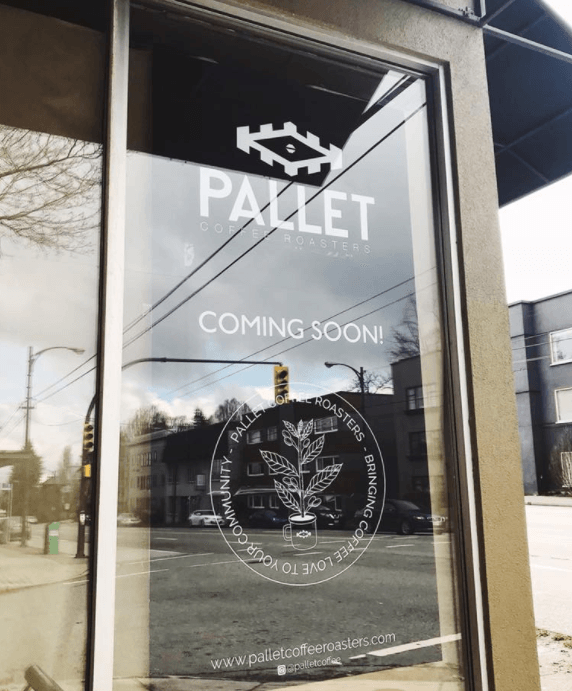 Pallet Coffee Roasters 4th location