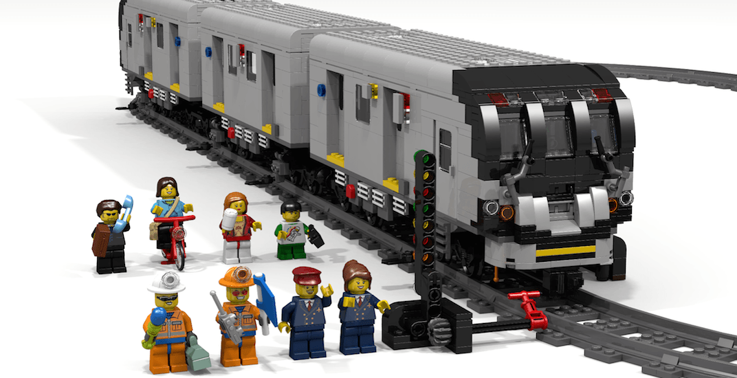 Ontario man trying to get his LEGO TTC subway car made into official set