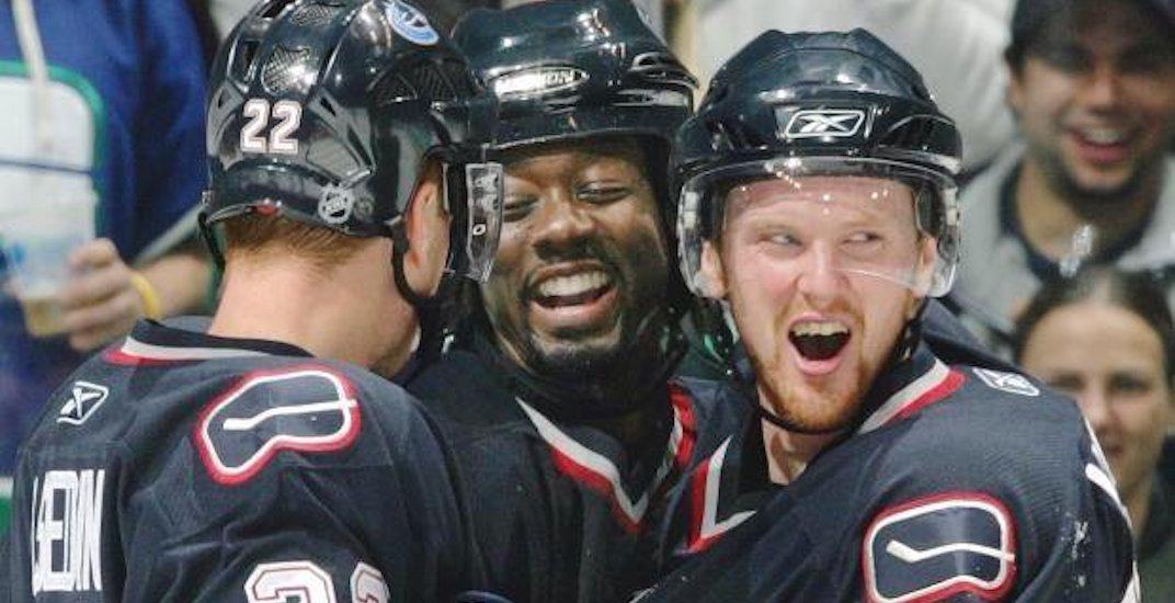 Anson Carter says race played a factor in Canucks contract negotiations