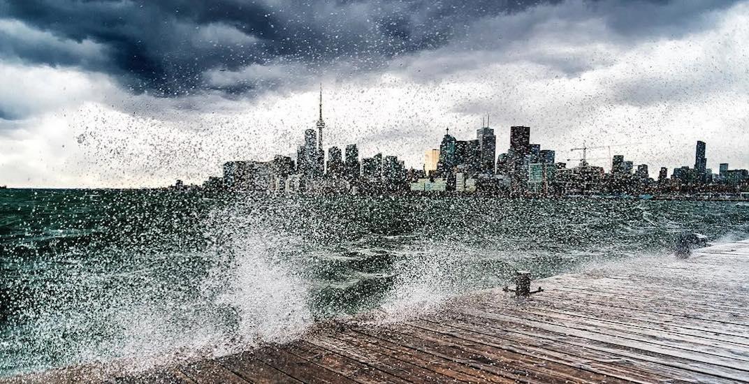 Toronto wind