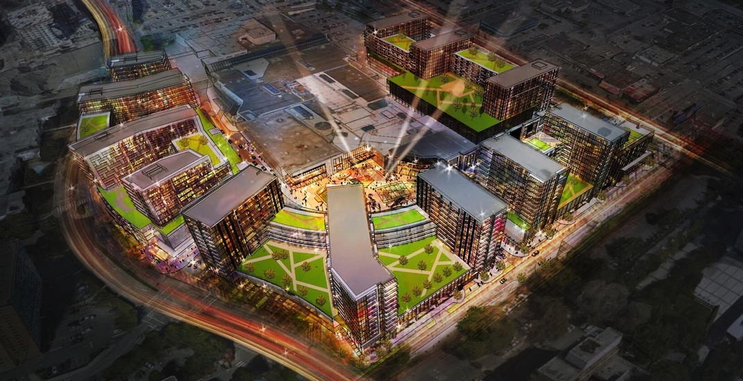 1,800 homes and more retail in CF Richmond Centre redevelopment (RENDERINGS)