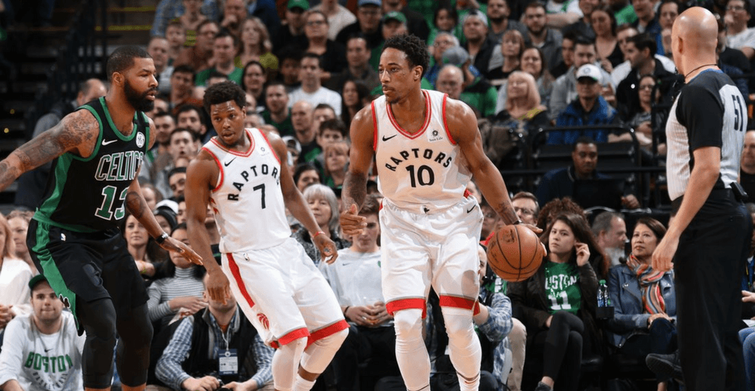 Raptors can basically lock up 1st place with a win against the Celtics tonight