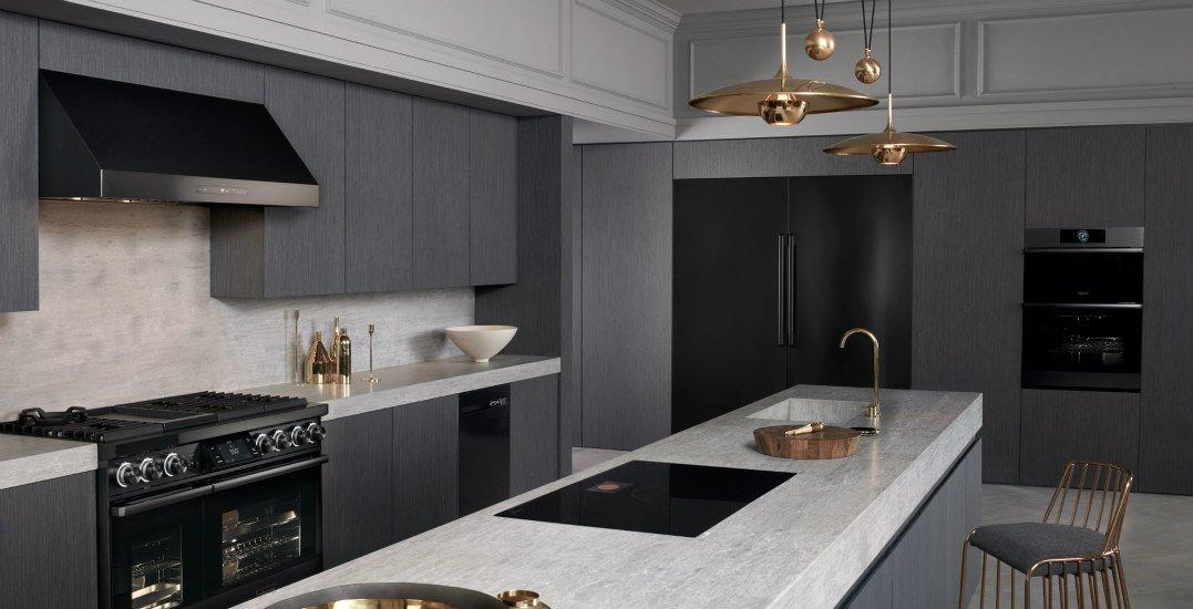 kitchen. dacor kitchen