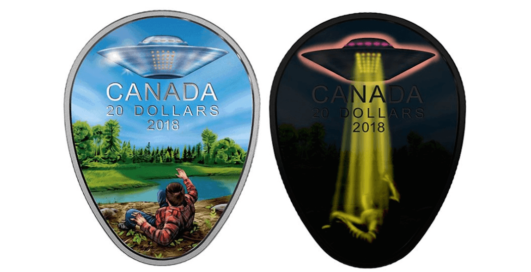 Royal Canadian Mint releases coin honouring Canada's famous UFO encounter