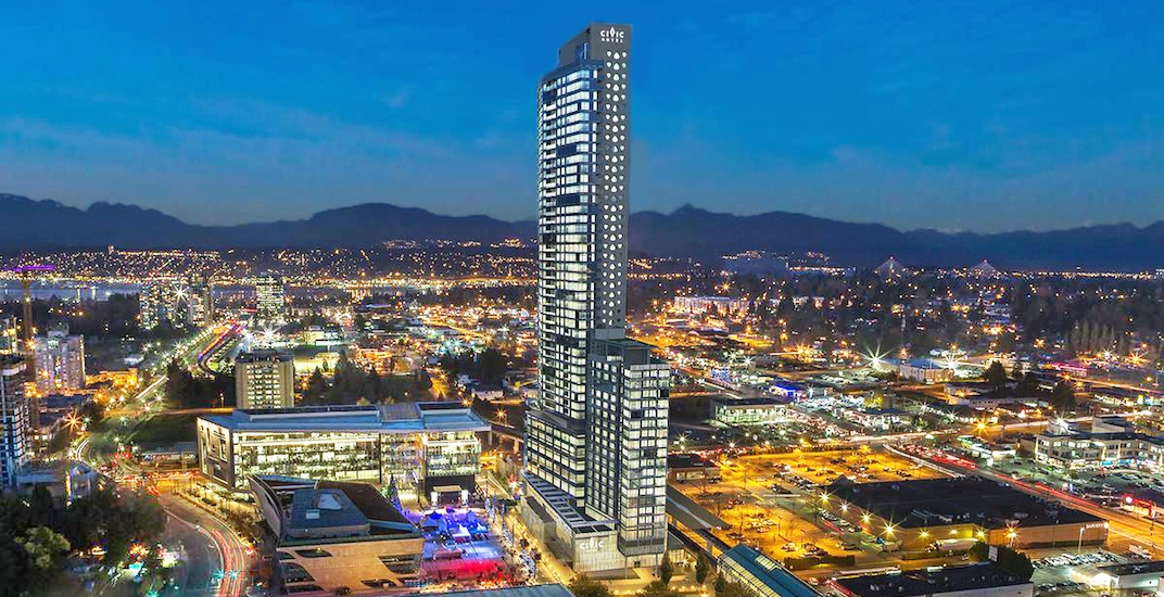 Surrey's new tallest skyscraper is now open